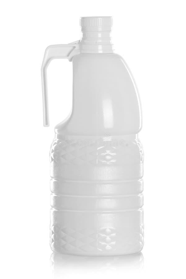 洗涤剂瓶或清洁产品包装 图库摄影