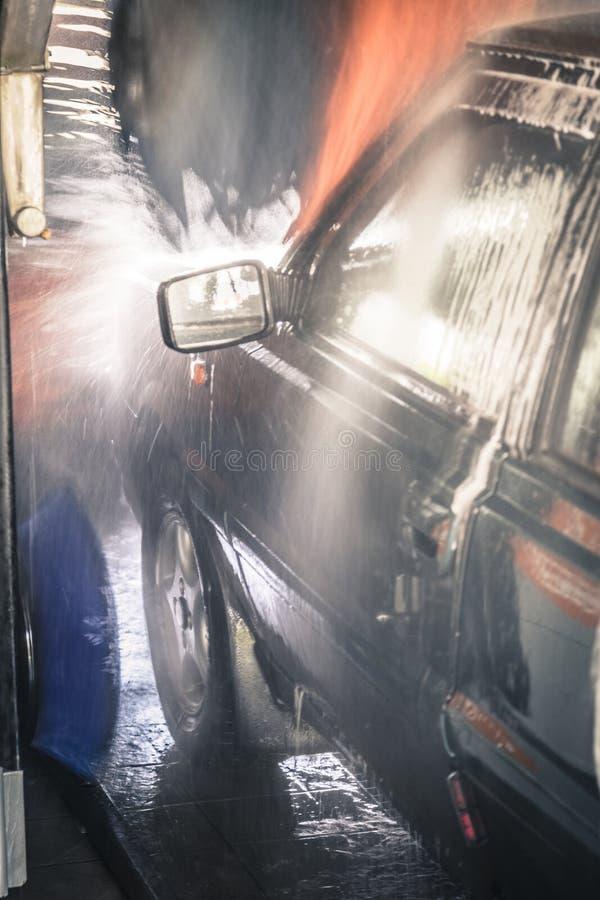 洗涤的汽车 库存图片
