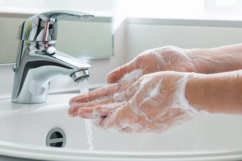 洗涤的现有量 库存照片
