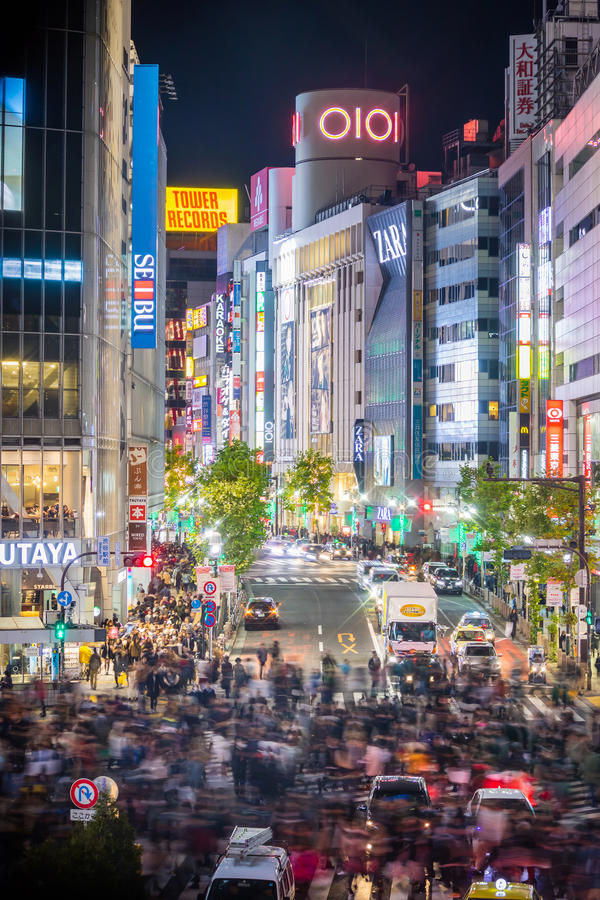 Download 涩谷横穿Topview视图在涩谷东京 编辑类库存照片. 图片 包括有 大都会, 二头肌, 办公室, 公共汽车 - 72371558