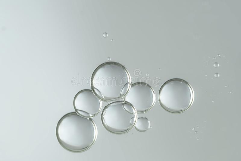 液体泡影 图库摄影