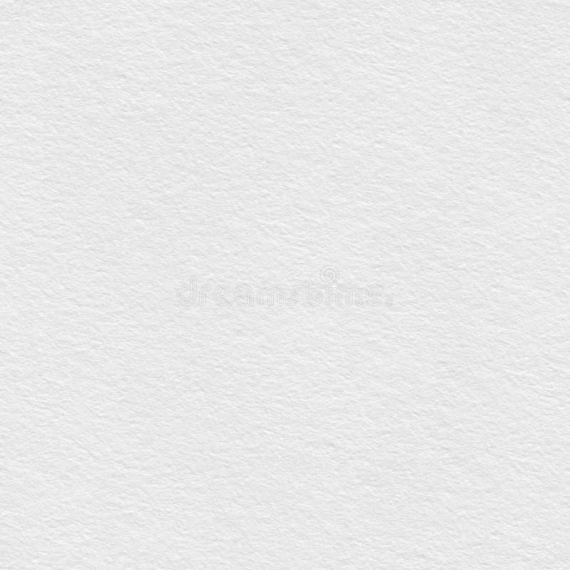液体纸纹理墙壁白色 无缝的方形纹理 准备好的瓦片 免版税库存照片