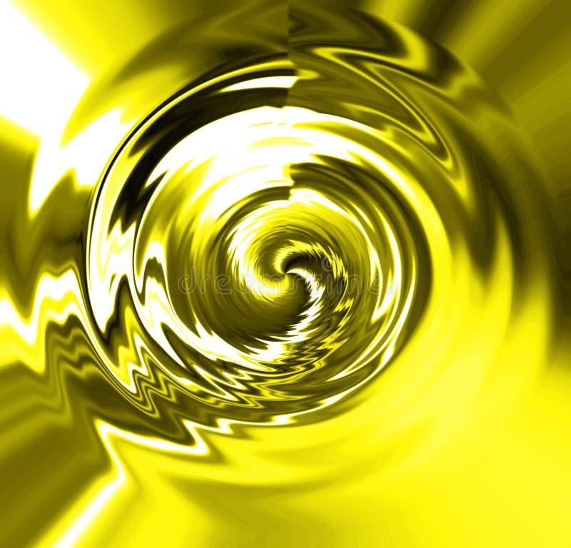 液体金子 库存例证