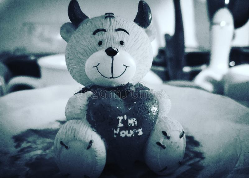 淘气熊 免版税图库摄影