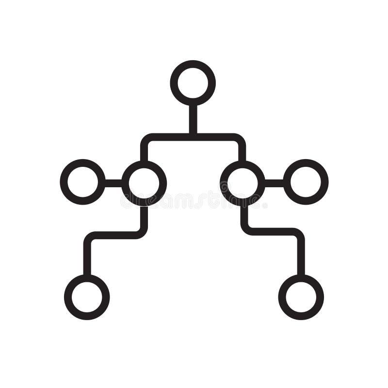 淘汰赛在白色背景、淘汰赛标志、标志和标志隔绝的象传染媒介在稀薄的线性概述样式 向量例证