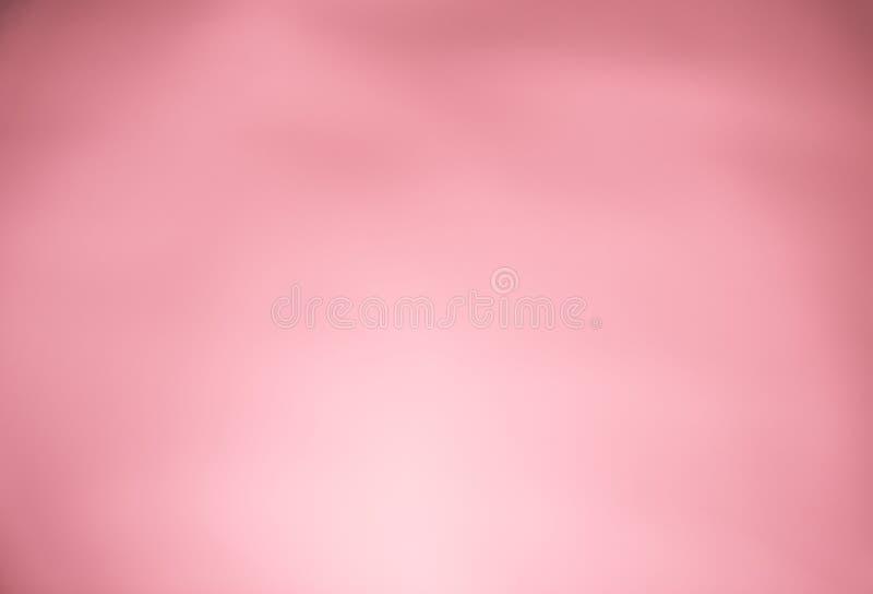 淡桔色的桃红色淡色梯度摘要背景 免版税图库摄影
