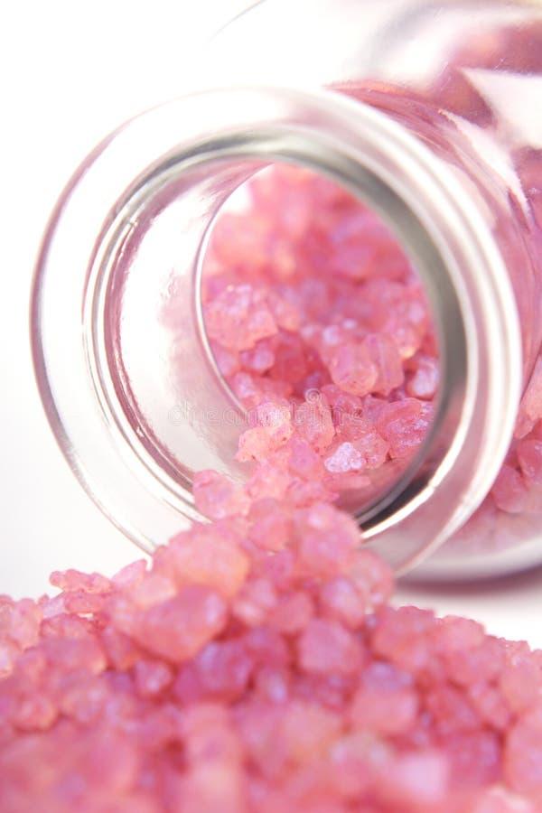 淡紫色盐 免版税图库摄影