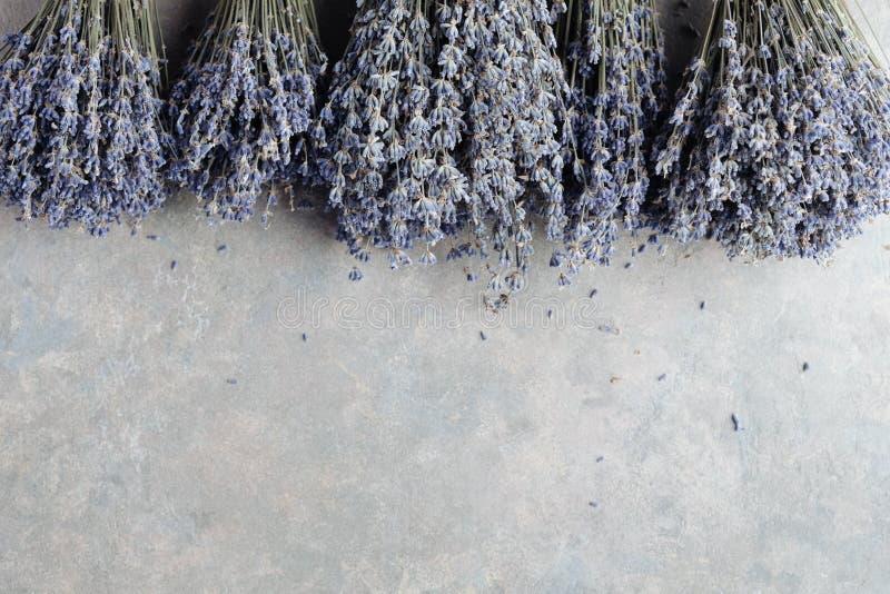 淡紫色美丽的花束  免版税库存照片