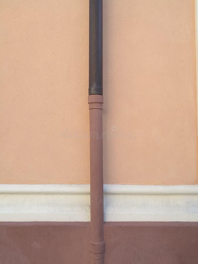 淡色建筑学细节在阿拉西奥,利古里亚 免版税库存图片