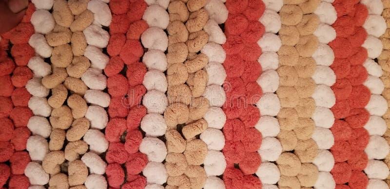 淡色条纹地毯 免版税图库摄影