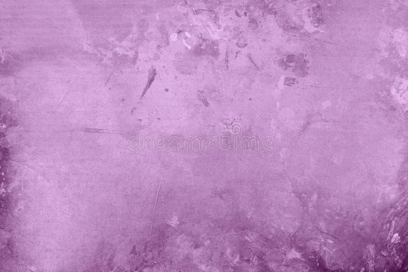 淡色紫色脏的backgrund 免版税图库摄影