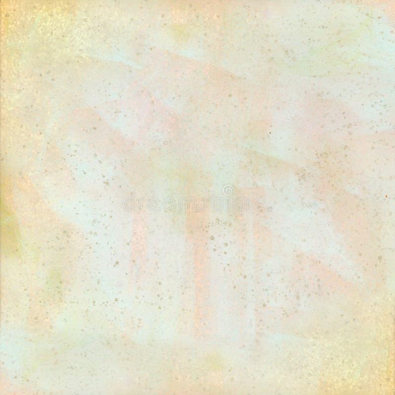 淡色脏的被察觉的水彩背景 向量例证