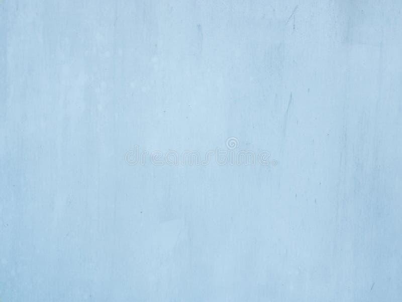 淡色蓝色水泥墙壁纹理背景 图库摄影