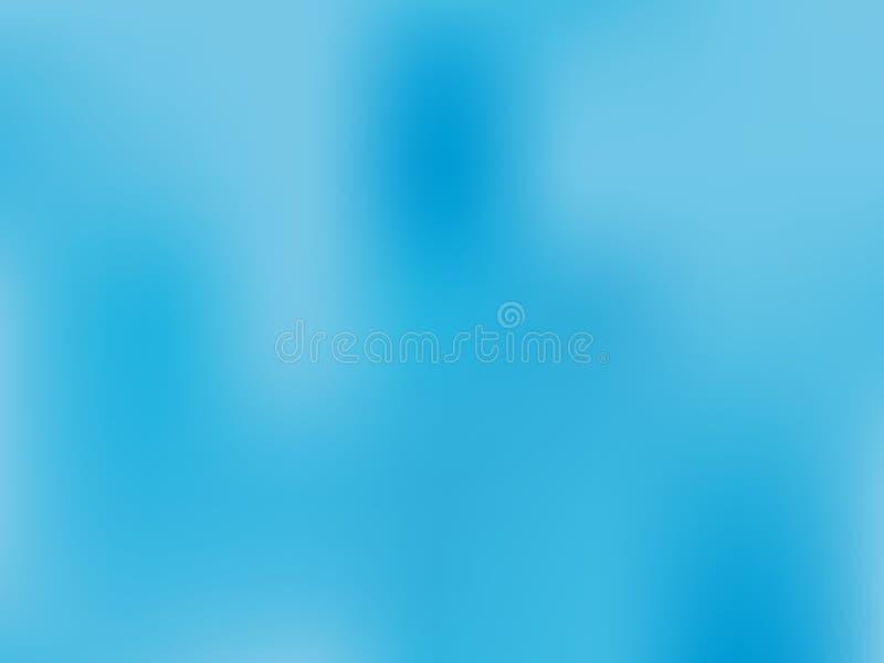 淡蓝的背景 轻的迷离背景 精美模式 抽象天空 传染媒介全息照相的纹理 库存例证