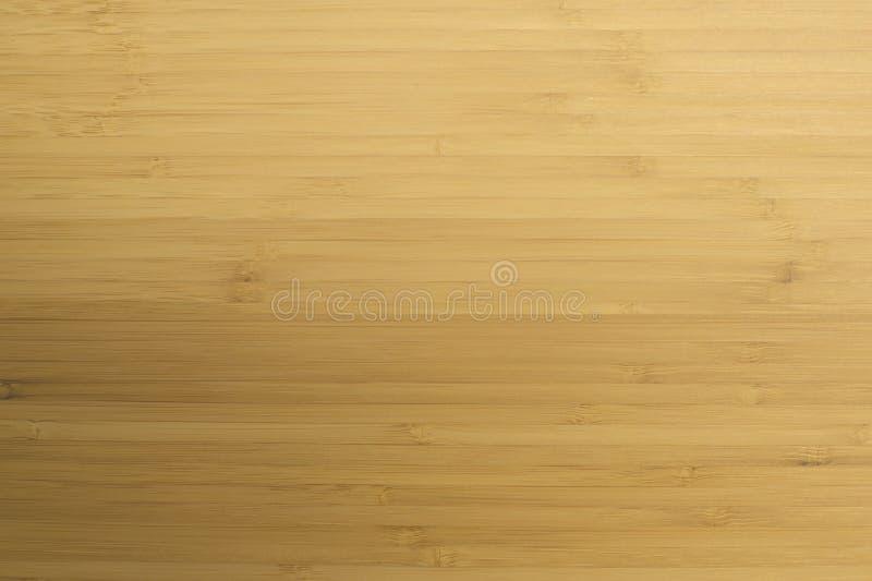 淡黄色自然木竹纹理 自然本底 免版税库存照片