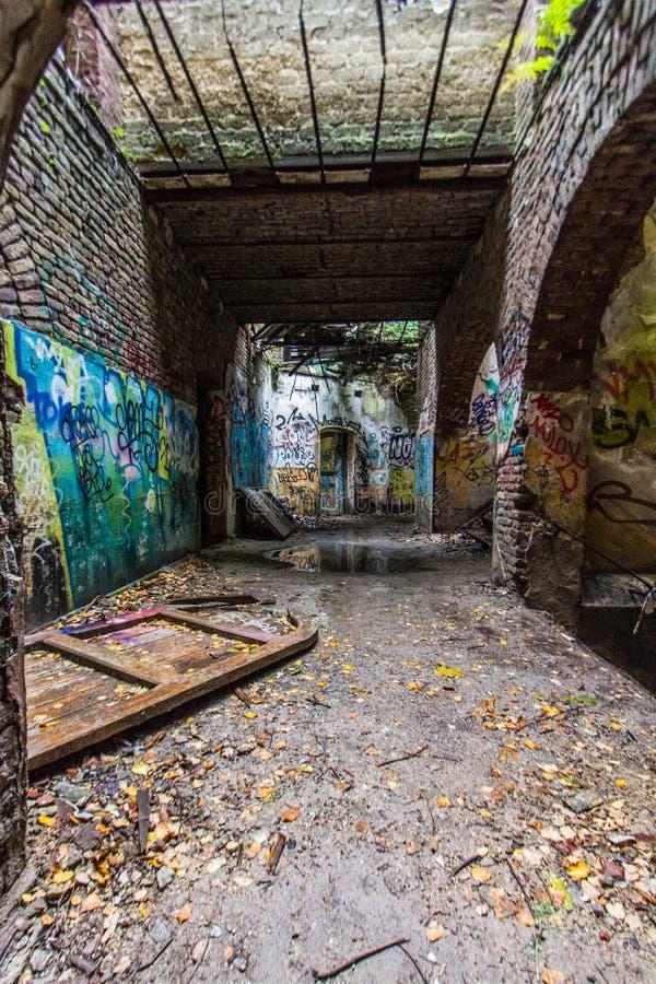淡黄绿堡垒的La - Luik 免版税图库摄影