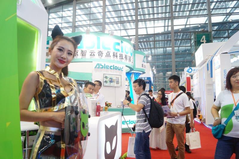 深圳国际聪明的家和聪明的硬件商展 免版税库存图片