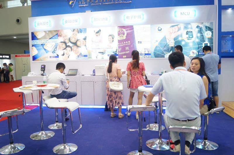 深圳国际聪明的家和聪明的硬件商展 库存图片