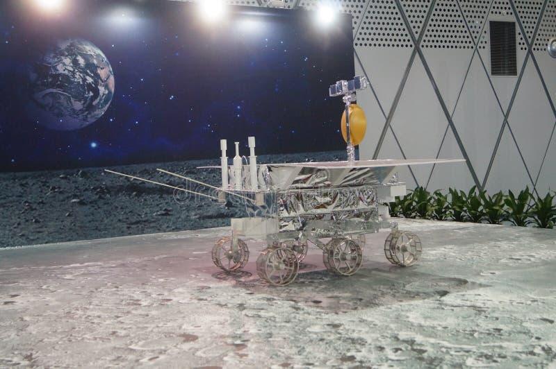 深圳,中国:中国月球探险计划科学了悟星期活动 免版税库存照片