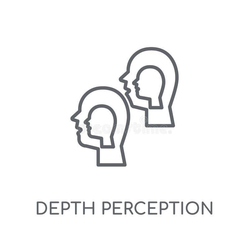 深度知觉线性象 现代概述深度知觉lo 皇族释放例证
