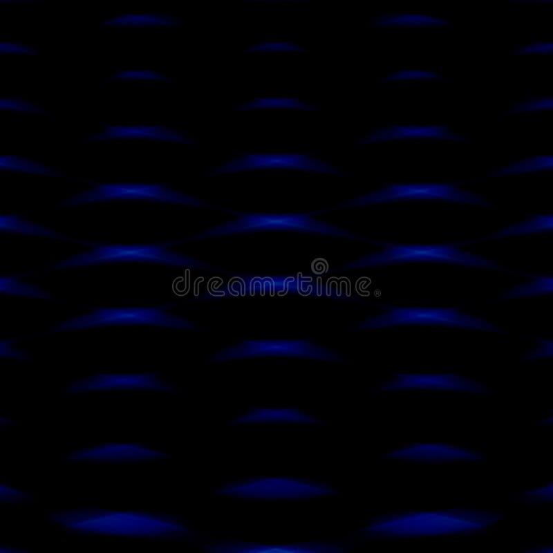 深度纹理蓝色抽象背景 向量例证