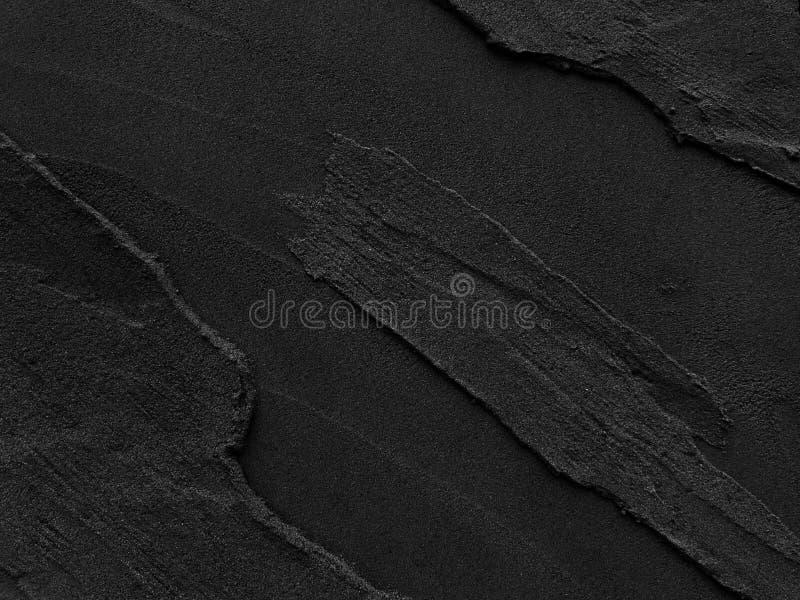 深灰黑板岩有概略的背景 库存照片