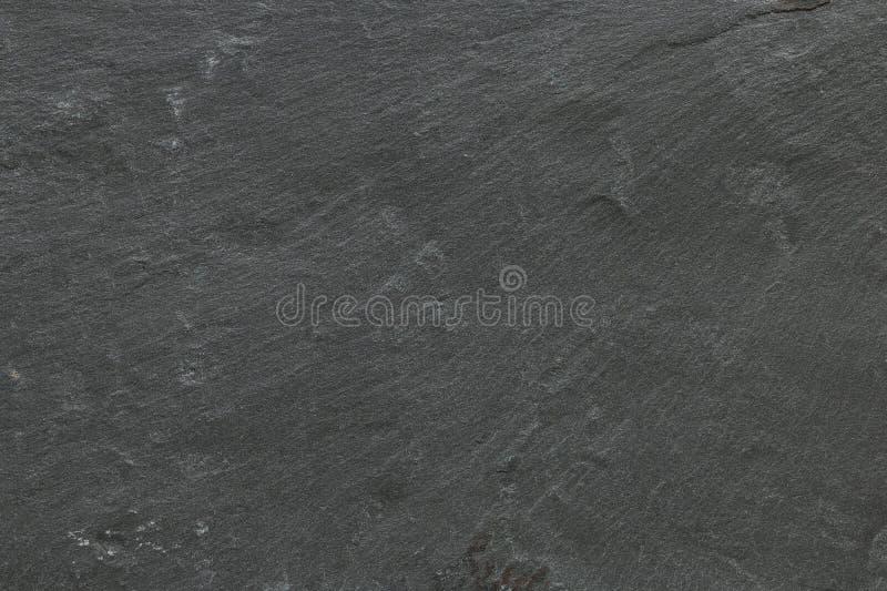 深灰黑板岩背景或纹理 图库摄影