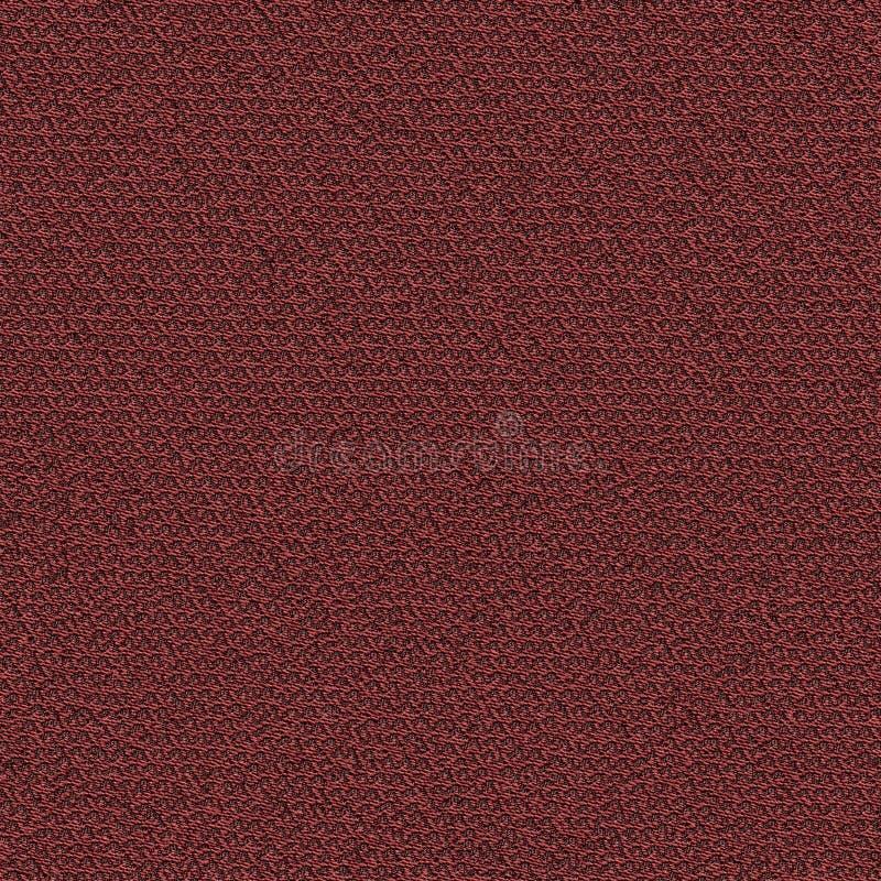 深红织品无缝的纹理 3d和第2的纹理地图 免版税库存照片