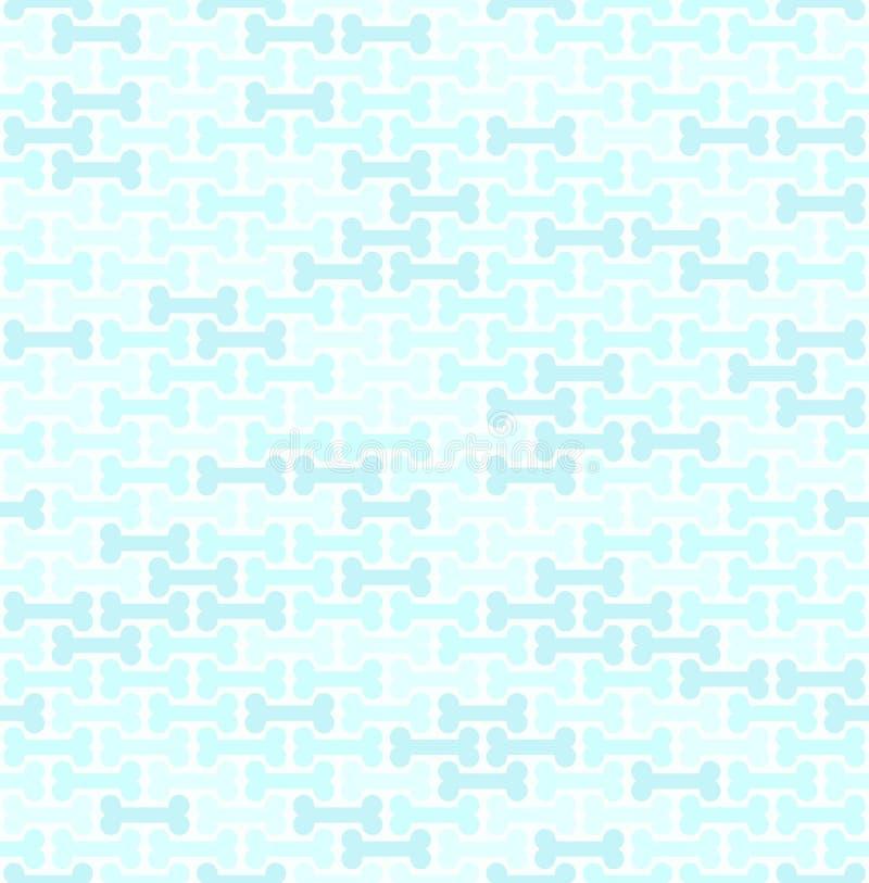 深蓝骨头样式 1866根据Charles Darwin演变图象无缝的结构树向量 向量例证