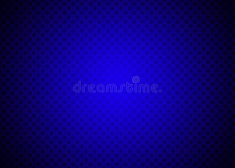 深蓝Techno装饰样式背景墙纸 皇族释放例证