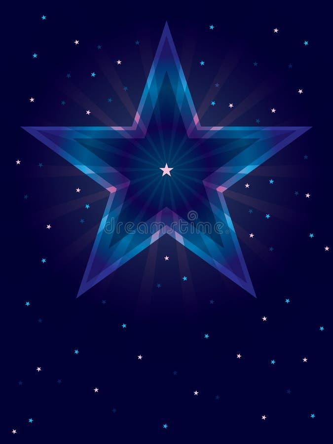 深颜色星形看板卡