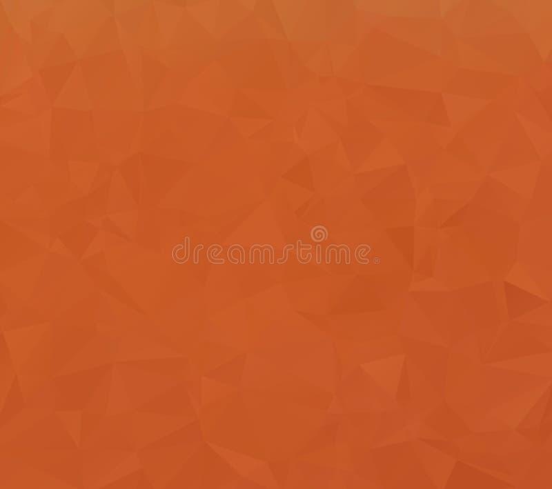 深黄传染媒介光亮的三角背景 光亮的多角形例证,包括三角 品牌的bo样式 皇族释放例证