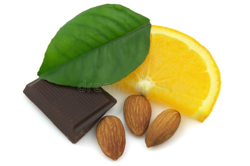 深黄的巧克力 免版税库存图片