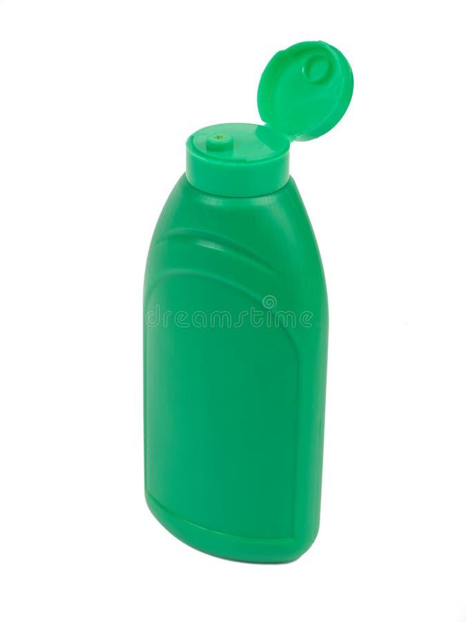深绿色塑料 免版税库存图片