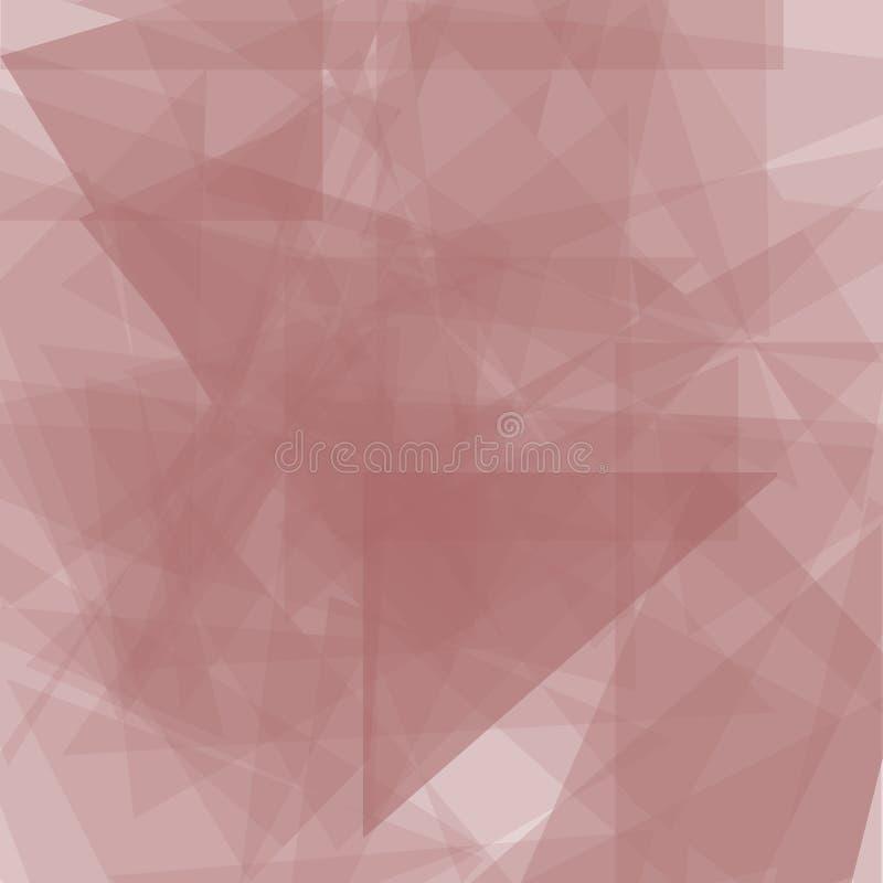 混乱三角构造的抽象轻的垂直的背景 几何模式 向量例证
