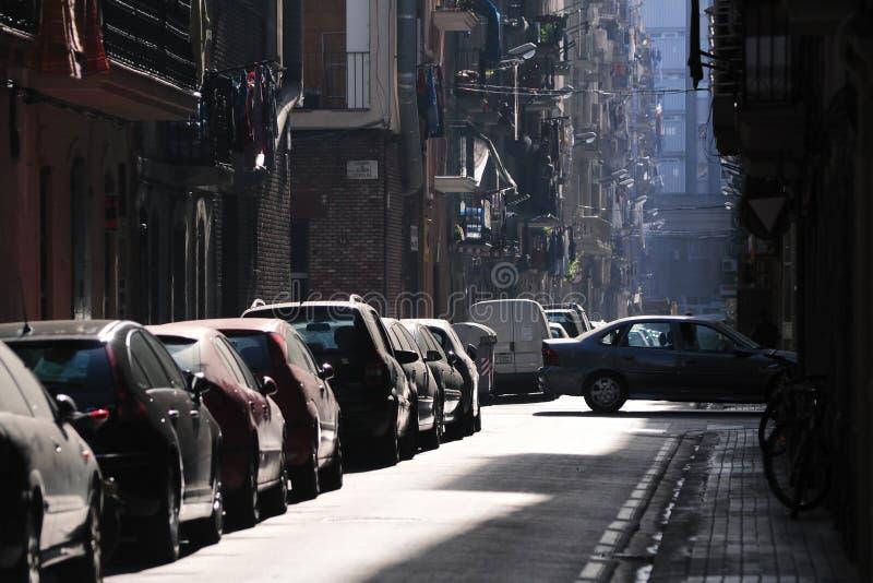混乱停车 免版税库存图片