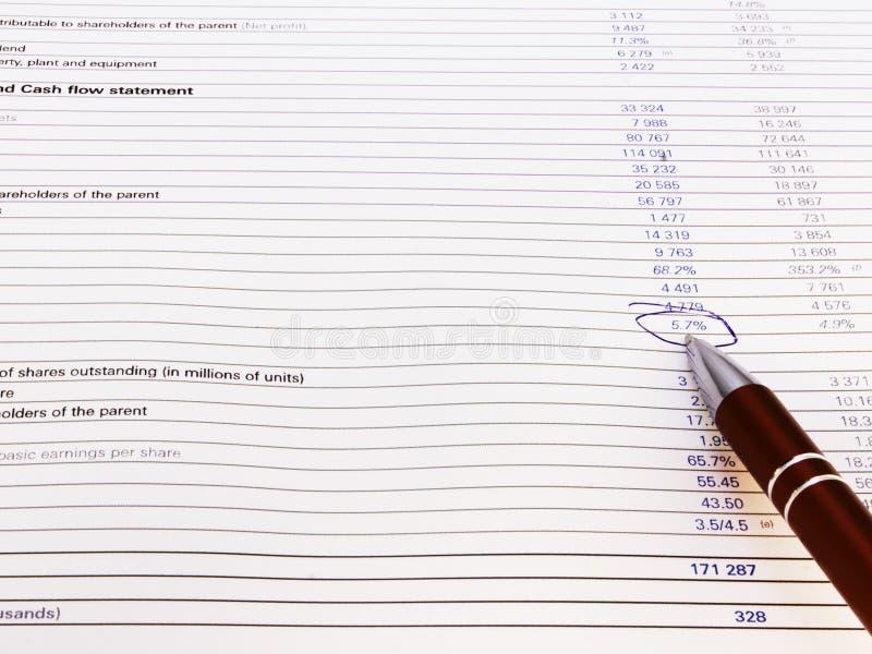 混乱判断财务编号 库存图片