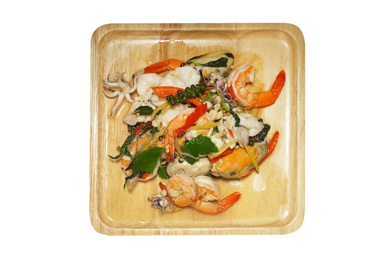 Download 混乱油煎了辣海鲜用混杂的草本,泰国食物 库存照片. 图片 包括有 石灰, 红色, 草本, 营养, 叶子, 膳食 - 62525898