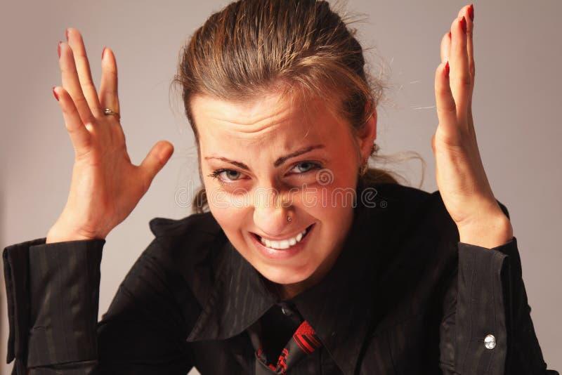 Download 混乱的womant 接近的纵向 库存照片. 图片 包括有 人们, 精疲力尽, 妇女, 问题, 秘书, 职业 - 72372530