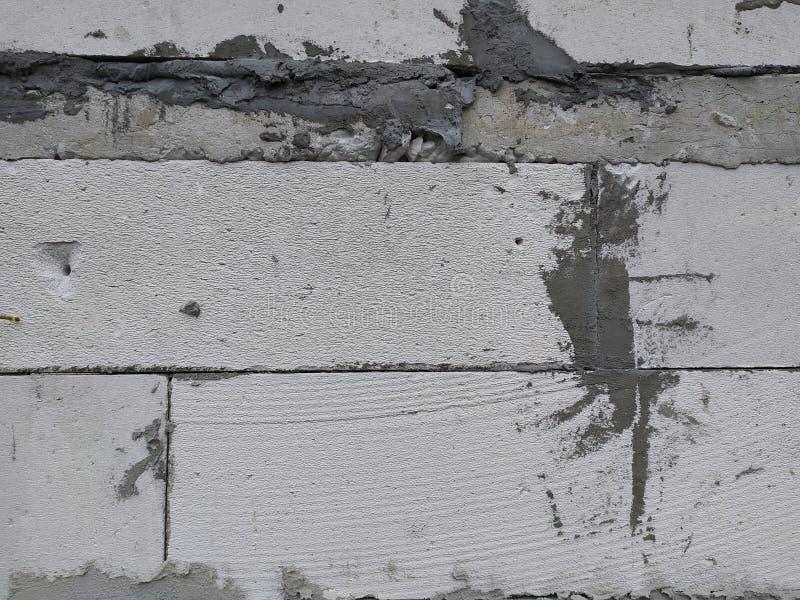 混凝土和砖背景 库存图片