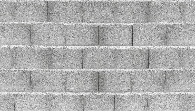 混凝土墙充分的框架射击  免版税库存照片