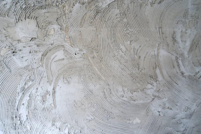 混凝土墙梳子表面 图库摄影