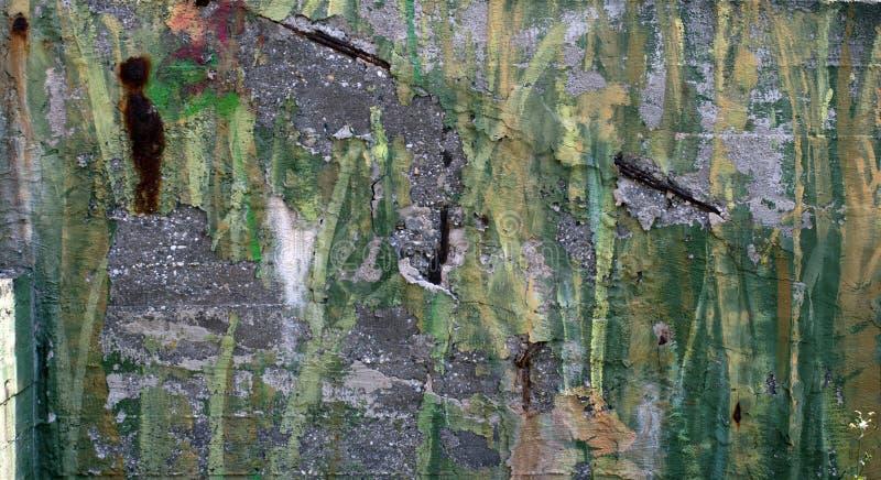混凝土墙油漆背景纹理 免版税库存图片