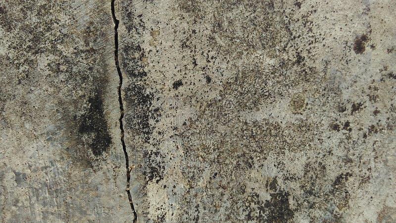 混凝土墙背景难看的东西纹理背景破裂的纹理创作摘要的 免版税库存照片