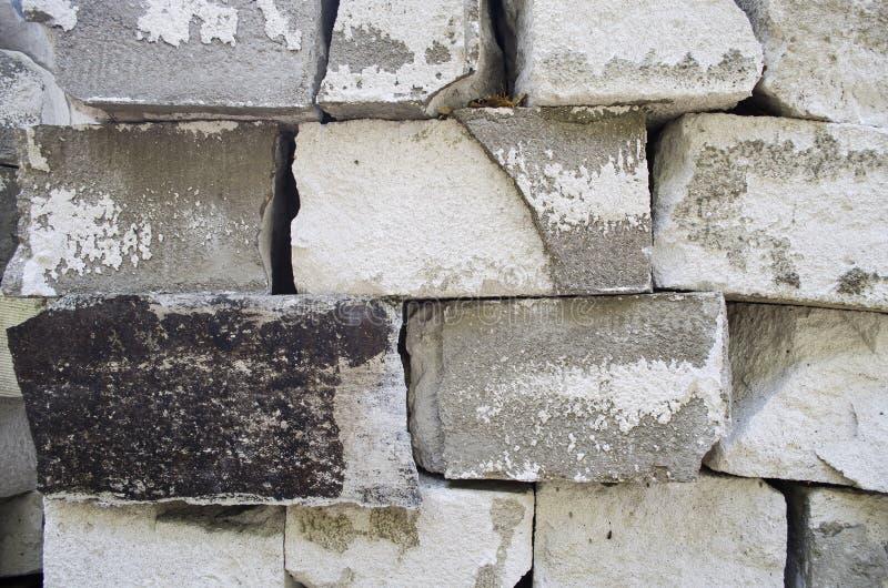 混凝土建筑块 免版税库存照片
