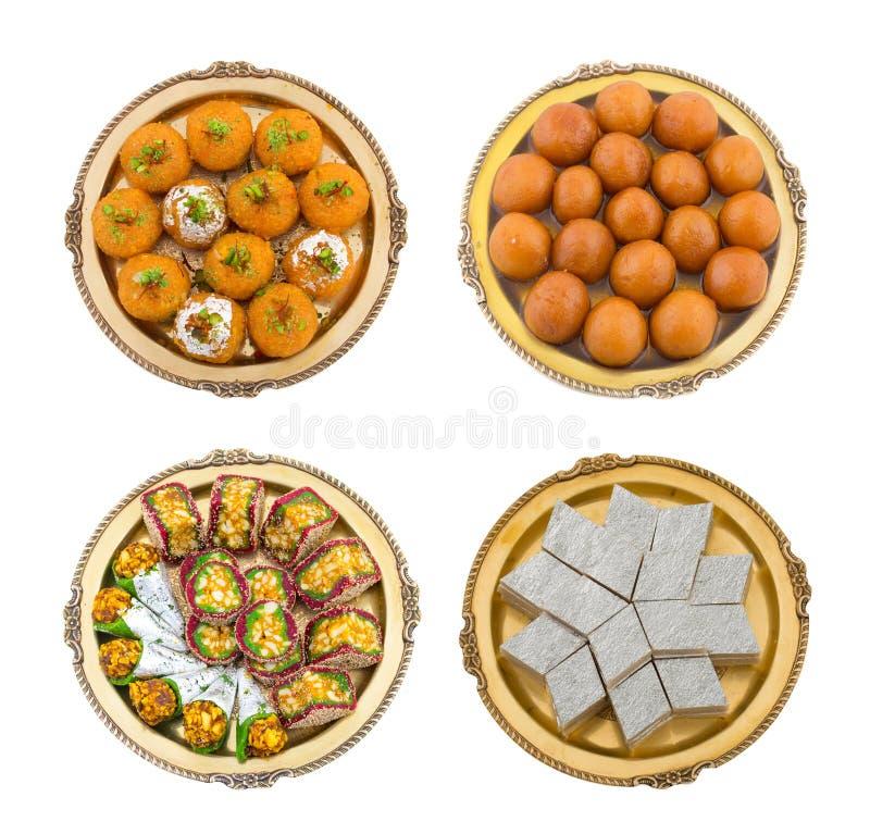 混合甜点食物 免版税库存照片