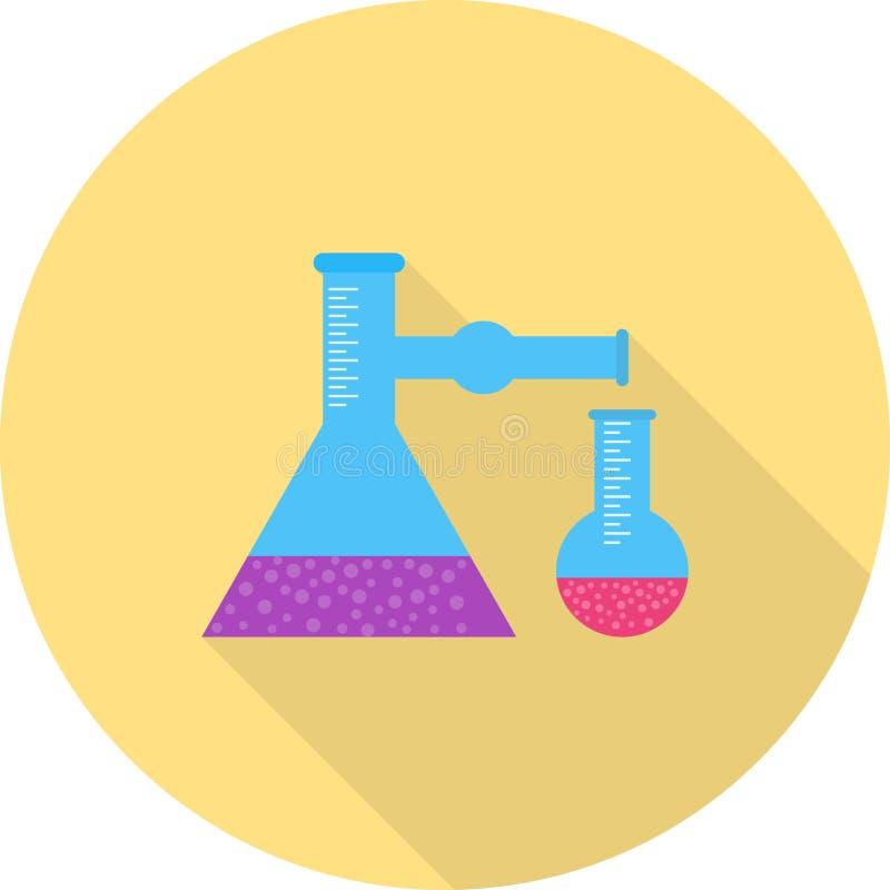 混合的化学制品II 向量例证