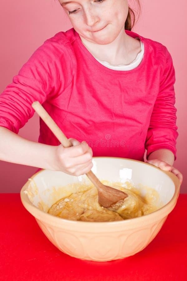 混合的混合物松饼 免版税库存图片