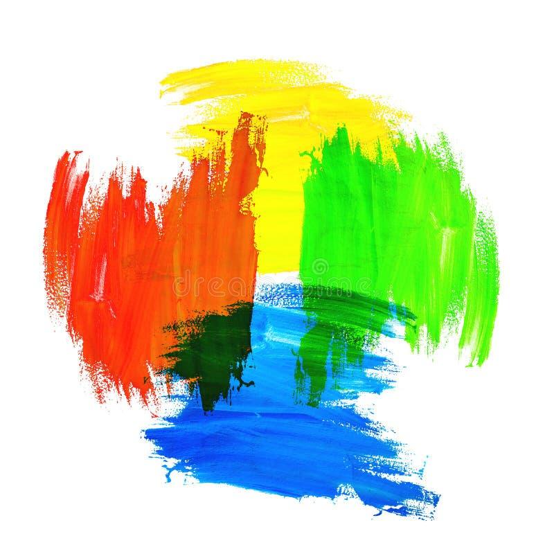 混合的颜色 免版税库存照片