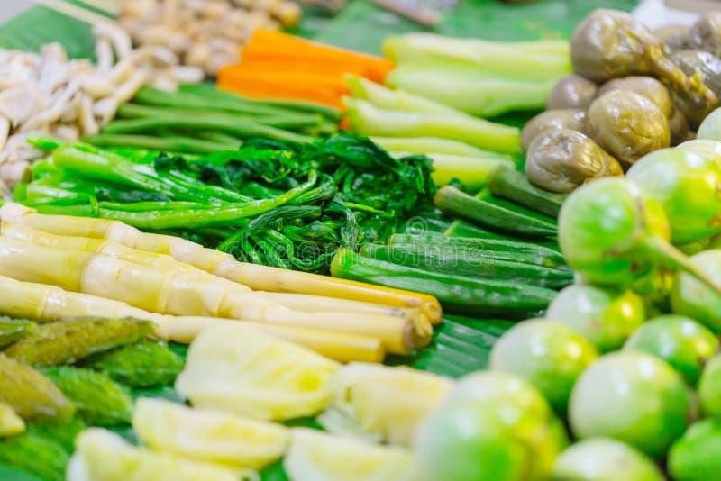 混合蒸的菜健康食物 免版税库存照片